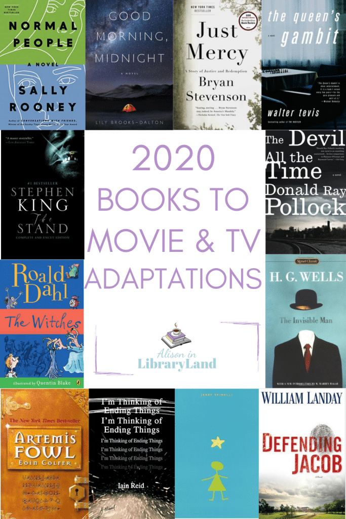 2020 Books To Movie and TV Adaptations