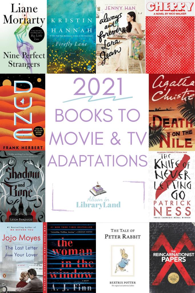 2021 Books To Movie & TV Adaptations
