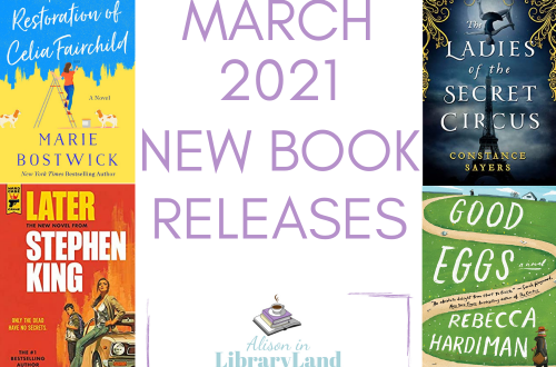 March 2021 New Book Releases