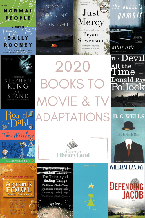 2020 Books To Movie & TV Adaptations
