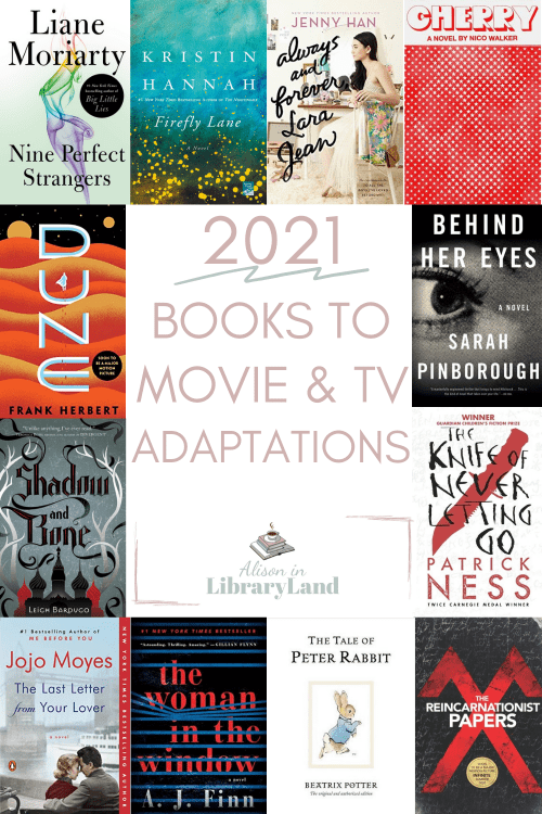 New 2021 Books To Movie & TV Adaptations