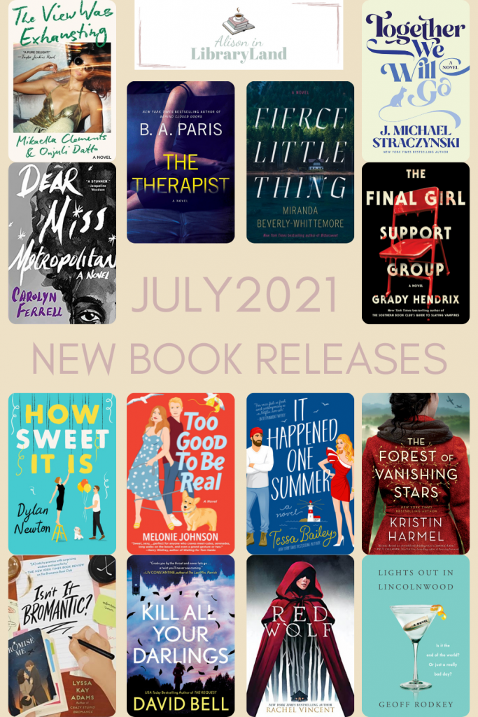 July 2021 New Book Releases
