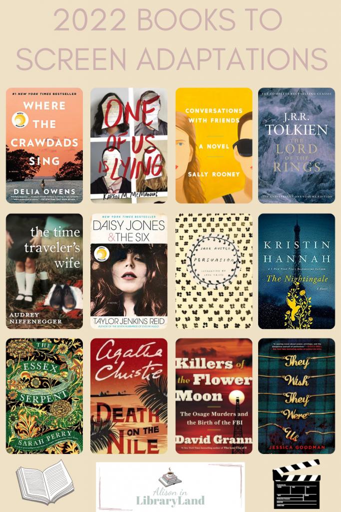 2022 Books to Movie & TV Adaptations